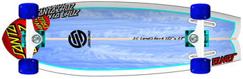 Santa Cruz Land Shark skateboard